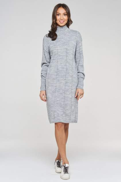 Женское платье VAY 192-2422, серый