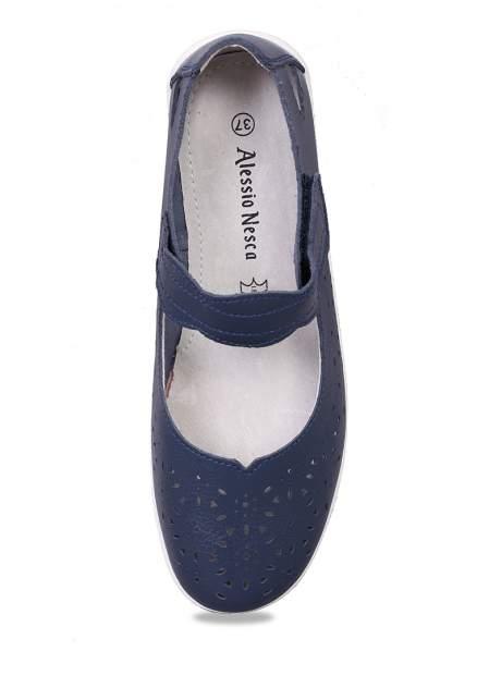 Туфли женские Alessio Nesca 710018021 синие 39 RU