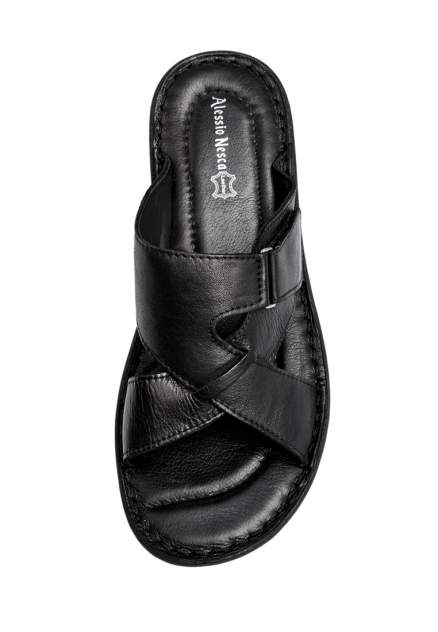 Шлепанцы мужские Alessio Nesca Comfort 710018083 черные 40 RU