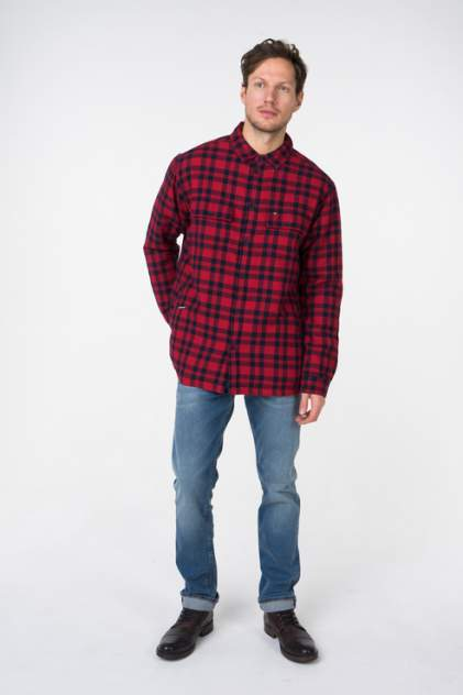Рубашка мужская Tommy Hilfiger DM0DM05470 красная M