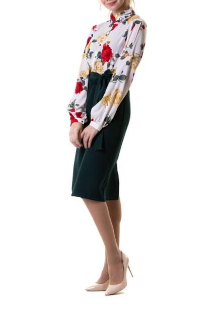Платье женское Adzhedo 41692 зеленое 4XL