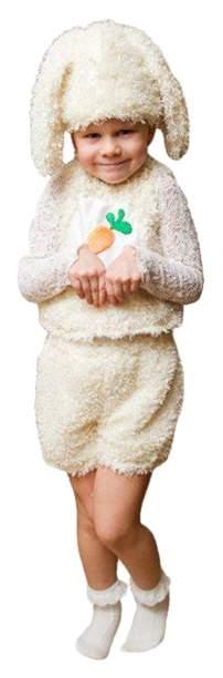 Карнавальный костюм Бока Заяц, цв. желтый р.104