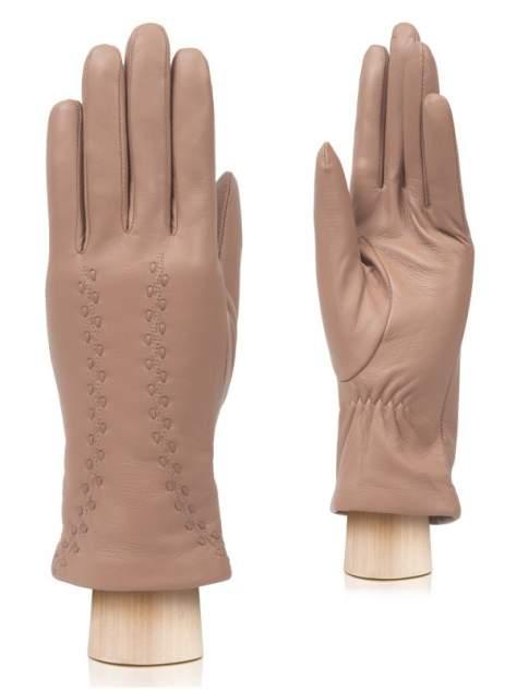 Перчатки женские Labbra LB-0511 бежевые 7