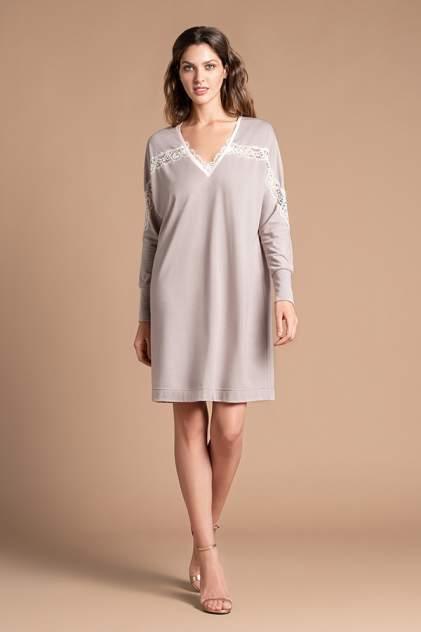 Домашнее платье женское Laete 30308 бежевое M