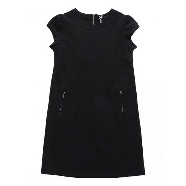 Платье Luminoso, цв. черный, 128 р-р
