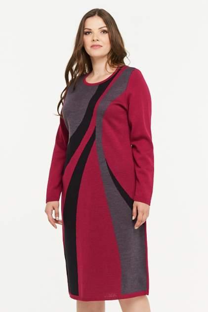 Платье женское VAY 182-2308 розовое 58 RU