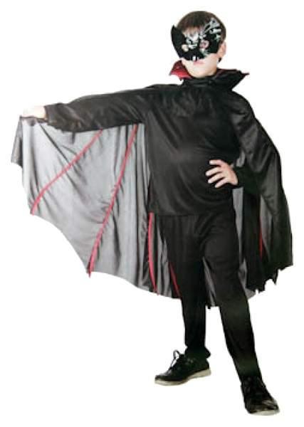 Карнавальный костюм Snowmen Летучая мышь, цв. черный р.122