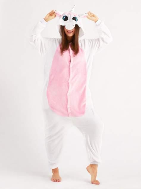 Кигуруми BearWear Пегас розовый, розовый