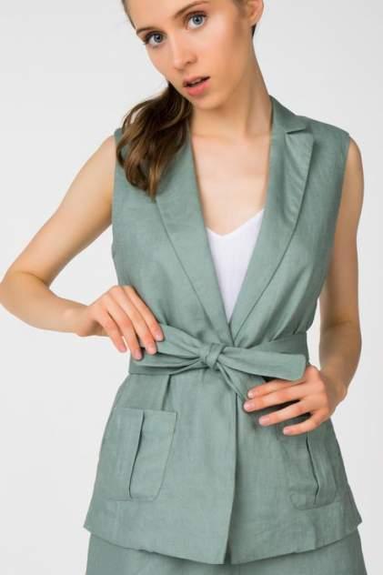 Жилет женский T-Skirt SS17-14-0450-FS зеленый XS