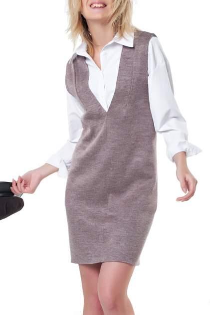 Платье женское Fly 9268-07 бежевое 40 RU