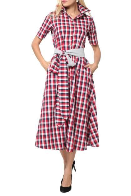 Платье женское KATA BINSKA KARLA 180748 красное 52 EU