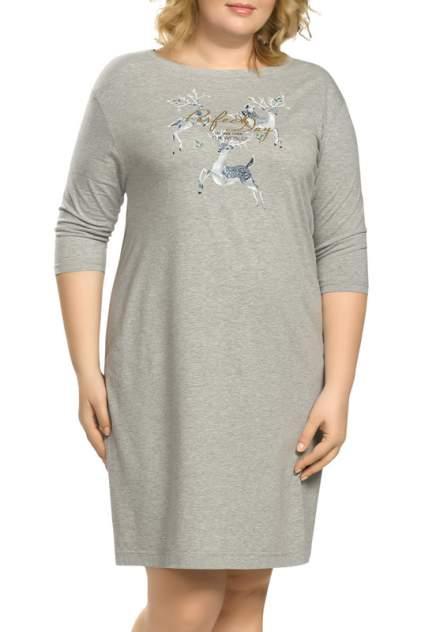 Платье женское Pelican ZFDJ9781 серое XL