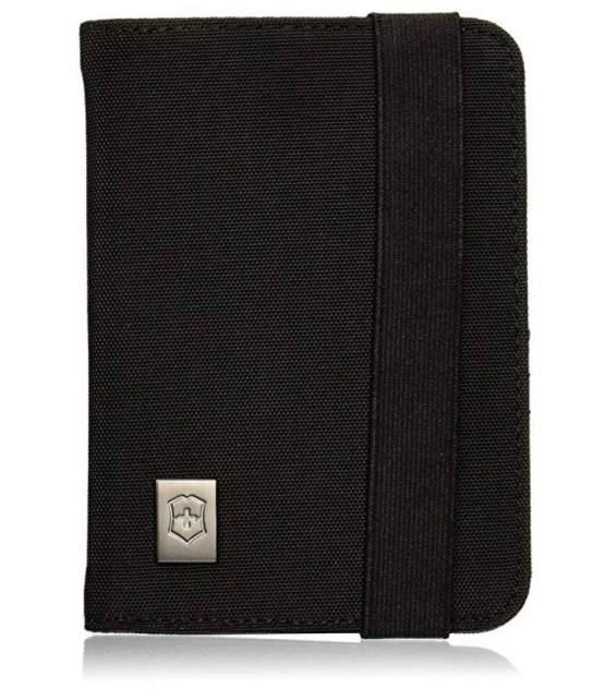 Обложка для паспорта Victorinox, черная, 31172201