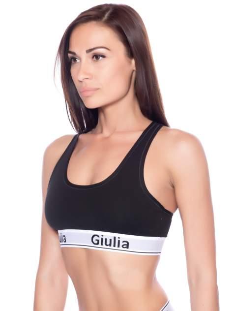 Топ женский Giulia COTTON BRA 01 черный S