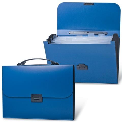 Папка для документов унисекс Brauberg Energy синяя