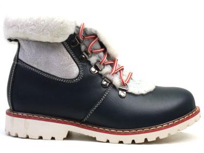 Ботинки женские Airbox 135487, синий