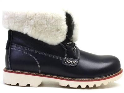 Ботинки женские Airbox 135488, синий