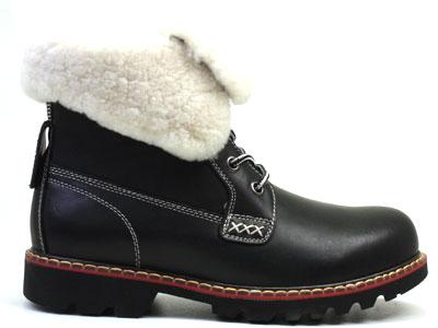 Ботинки женские Airbox 135489, черный