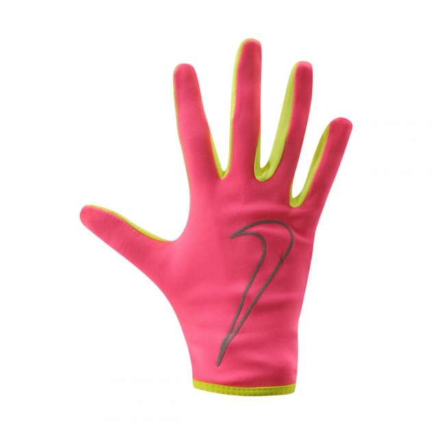 Женские перчатки Nike Women's Rally Run Gloves, розовый