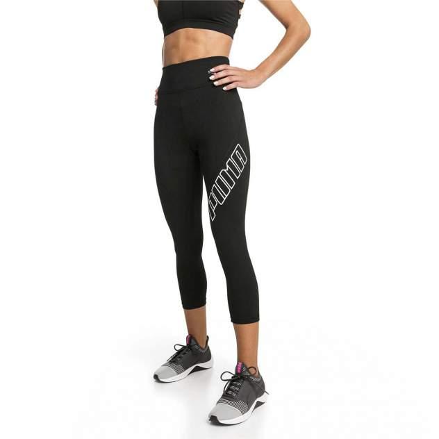 Женские тайтсы PUMA Yogini Logo Legging, черный