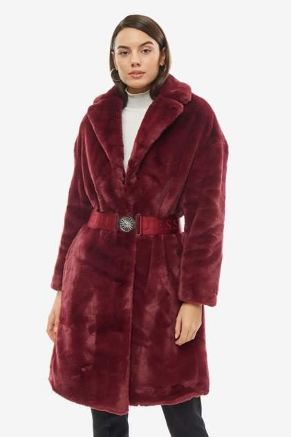 Женская шуба Guess W94L72-WAPL0-MARD, бордовый