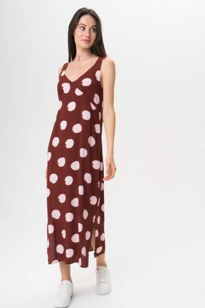 Платье женское ICHI 20109050 красное 36 EU
