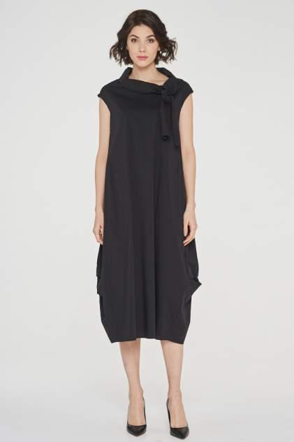 Платье женское VAY 191-3525 черное 52 RU