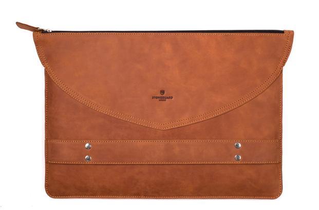 Кожаный чехол-папка Stoneguard 521 (SG5210101) для MacBook Pro 13 (Rust)