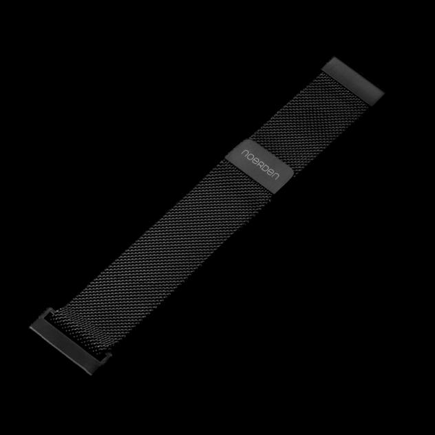 Ремешок для часов Noerden PAB-0303 черный 20 мм