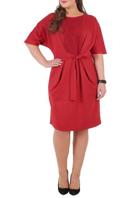 Платье женское MONTEBELLUNA SS-DR-17001 красное 54 RU