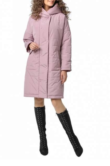 Пуховик-пальто женский DizzyWay 20112 розовый 60 RU