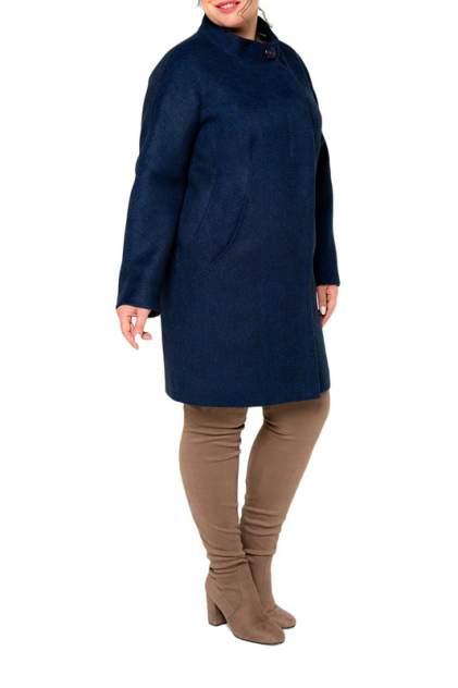 Пальто женское KR 7715 синее 48 RU