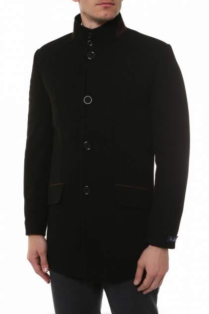 Мужское пальто Caravan Wool К3009, черный