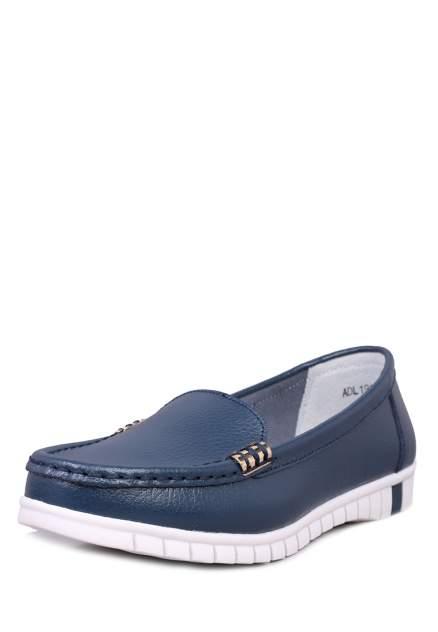 Мокасины женские Alessio Nesca Comfort 710018746, синий