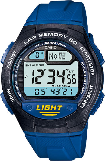 Наручные часы электронные мужские Casio Collection W-734-2A