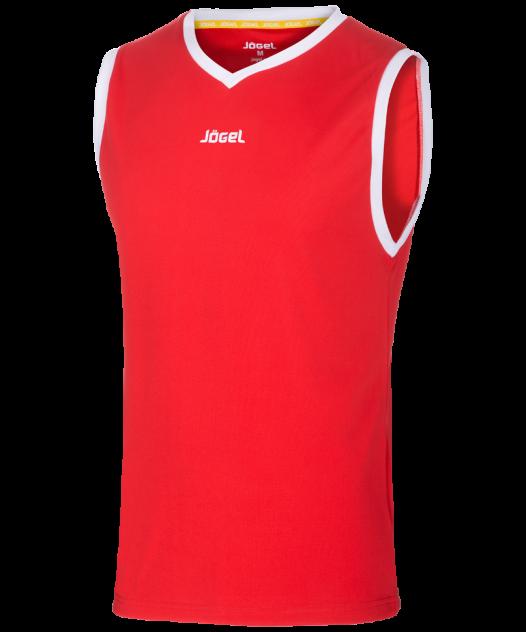 Майка Jogel JBT-1001-021, красный/белый, S INT