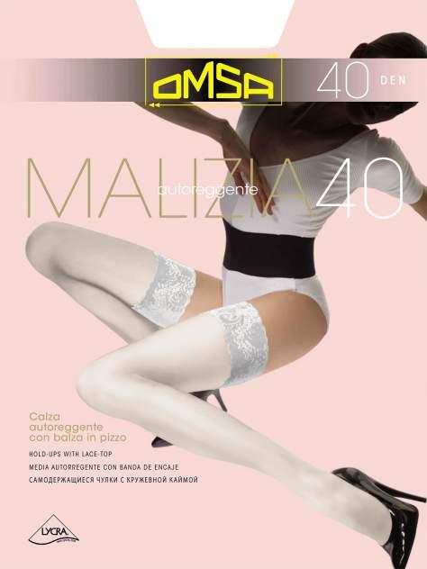 Чулки женские Omsa 527OM белые 3