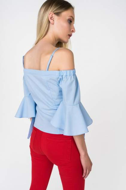 Блуза женская Marimay 7217-7 голубая 46 RU
