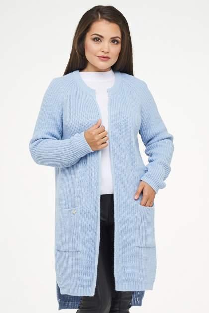 Жакет женский VAY 182-1547 голубой 54 RU