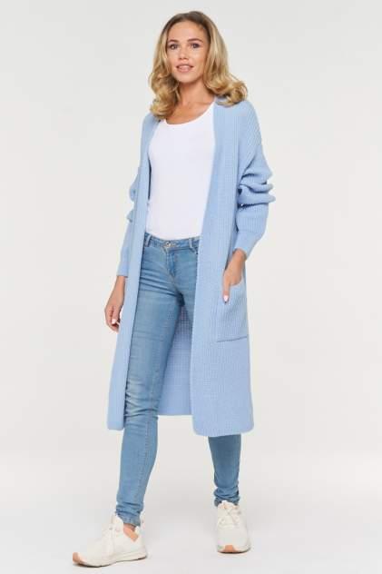 Жакет женский VAY 192-1597 голубой 44 RU