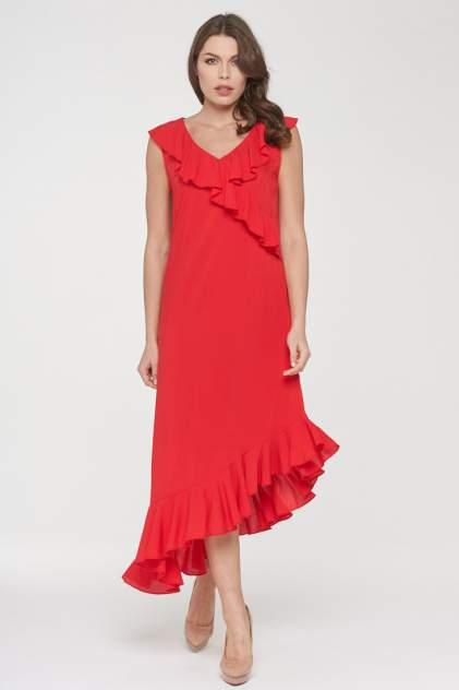 Женское платье VAY 191-3481, красный