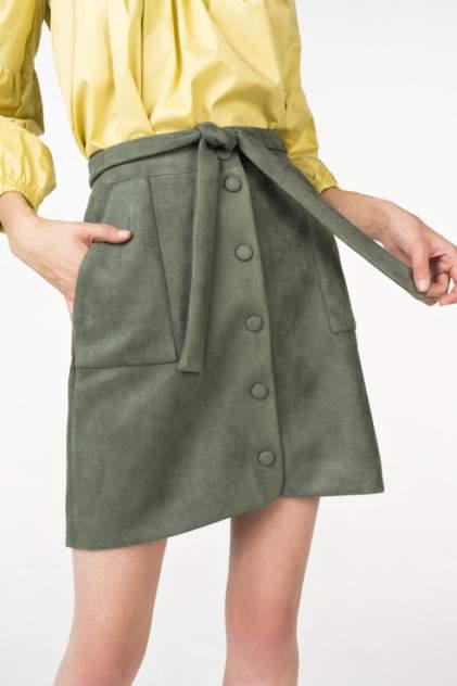 Юбка женская T-Skirt AW18-01-0520-FS зеленая 44 RU