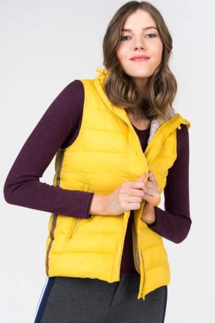 Утепленный жилет женский Greystone 30102325 желтый 44