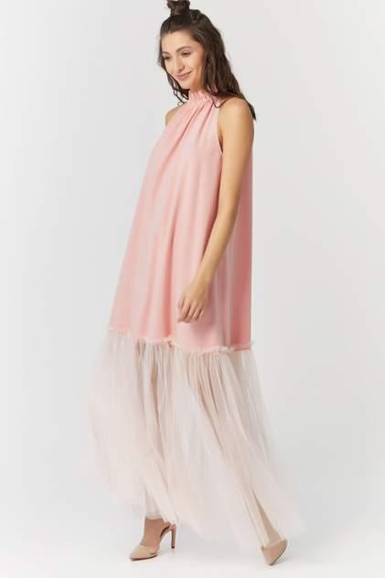 Платье женское Fly 823-04 розовое 42 RU