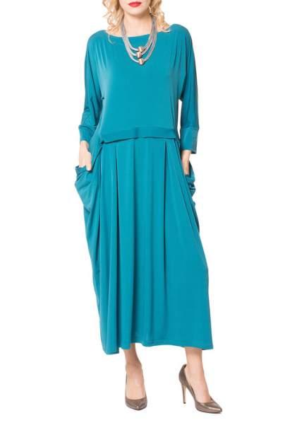 Платье женское KATA BINSKA ZIRA 191221 голубое 48-50 EU