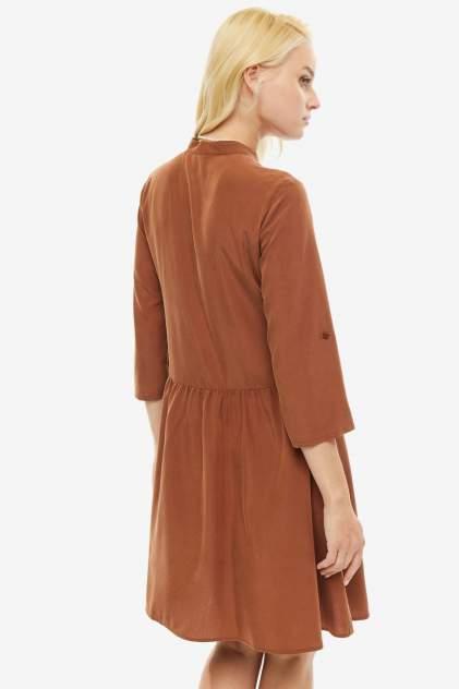 Платье женское COMMA 8T.908.82.5153 8756 коричневое 40 DE