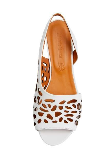 Туфли женские Alessio Nesca 710018224 белые 42 RU