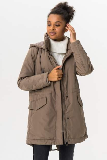 Куртка женская Finn Flare A19-11016 коричневая M