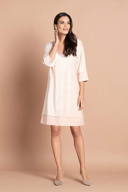 Домашнее платье женское Laete 20318 бежевое M