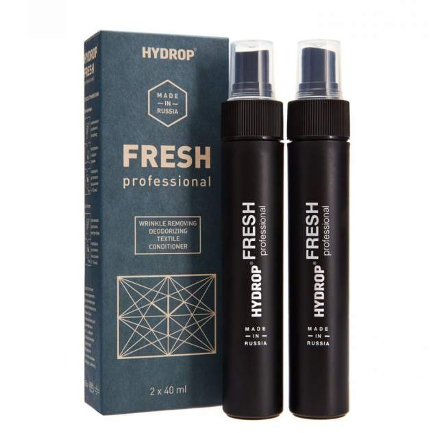Жидкий утюг и дезодорант для обуви и одежды HYDROP Fresh с дезинфицирующим эффектом